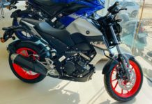 yamaha mt15 bs6 Ice Fluo Vermillion -1