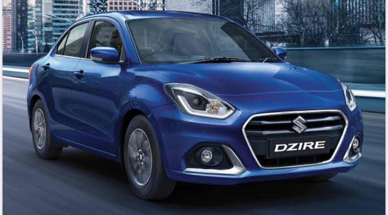 2020 Maruti Suzuki Dzire Facelift 3
