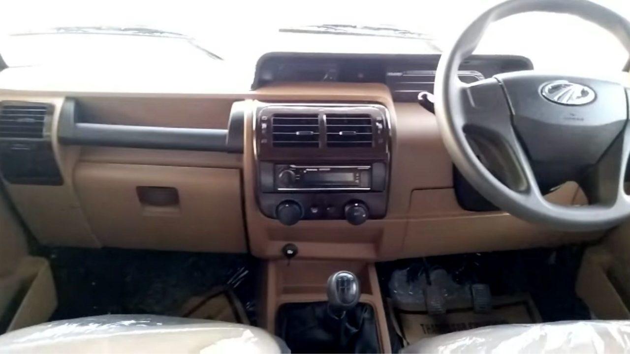 2020 bolero facelift interior