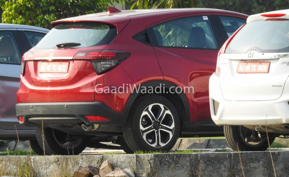 2020 honda hr-v india red-1