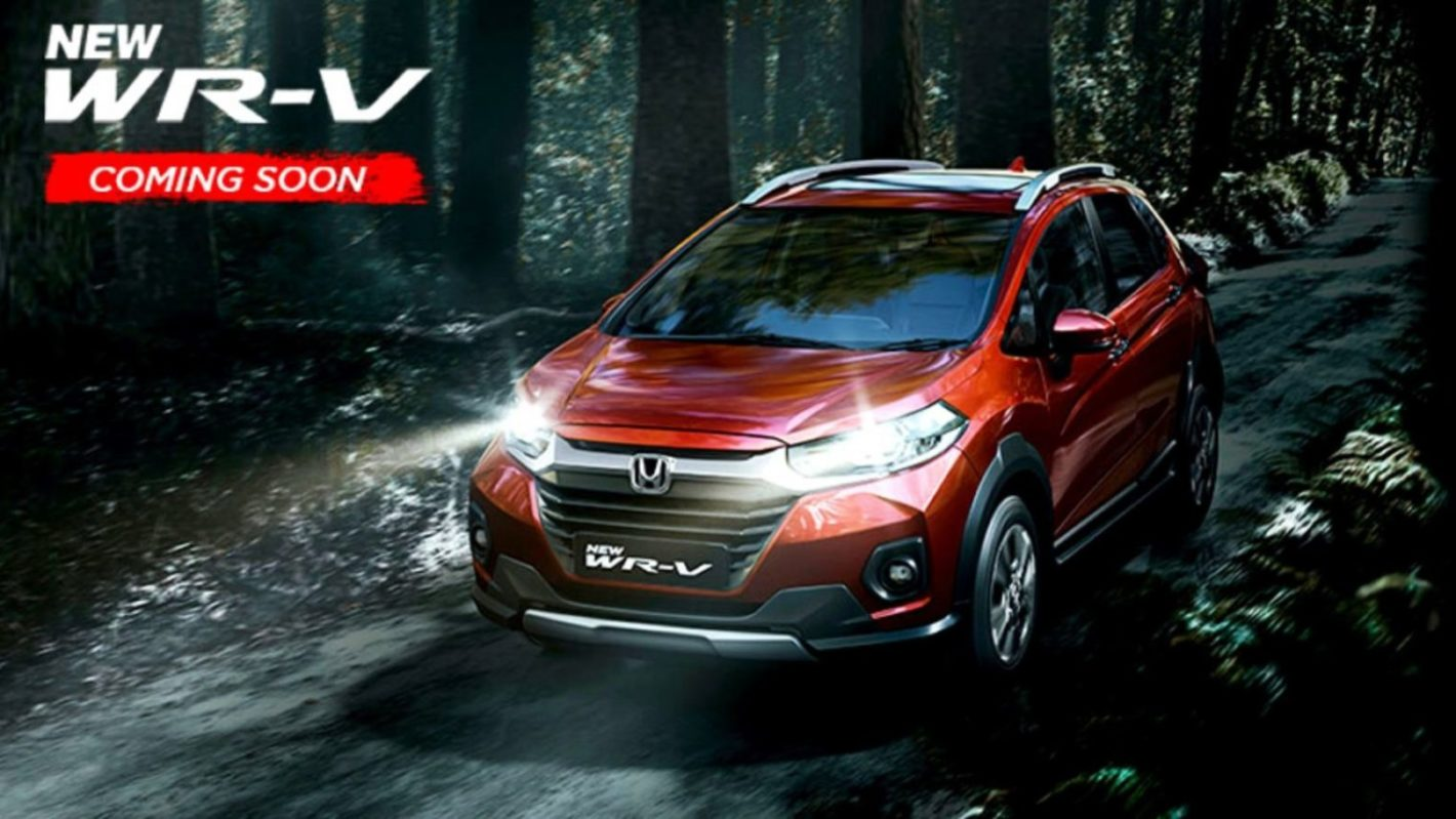 2020 Honda WR-V Facelift BS6 Coming Soon, First Pics Out thumbnail