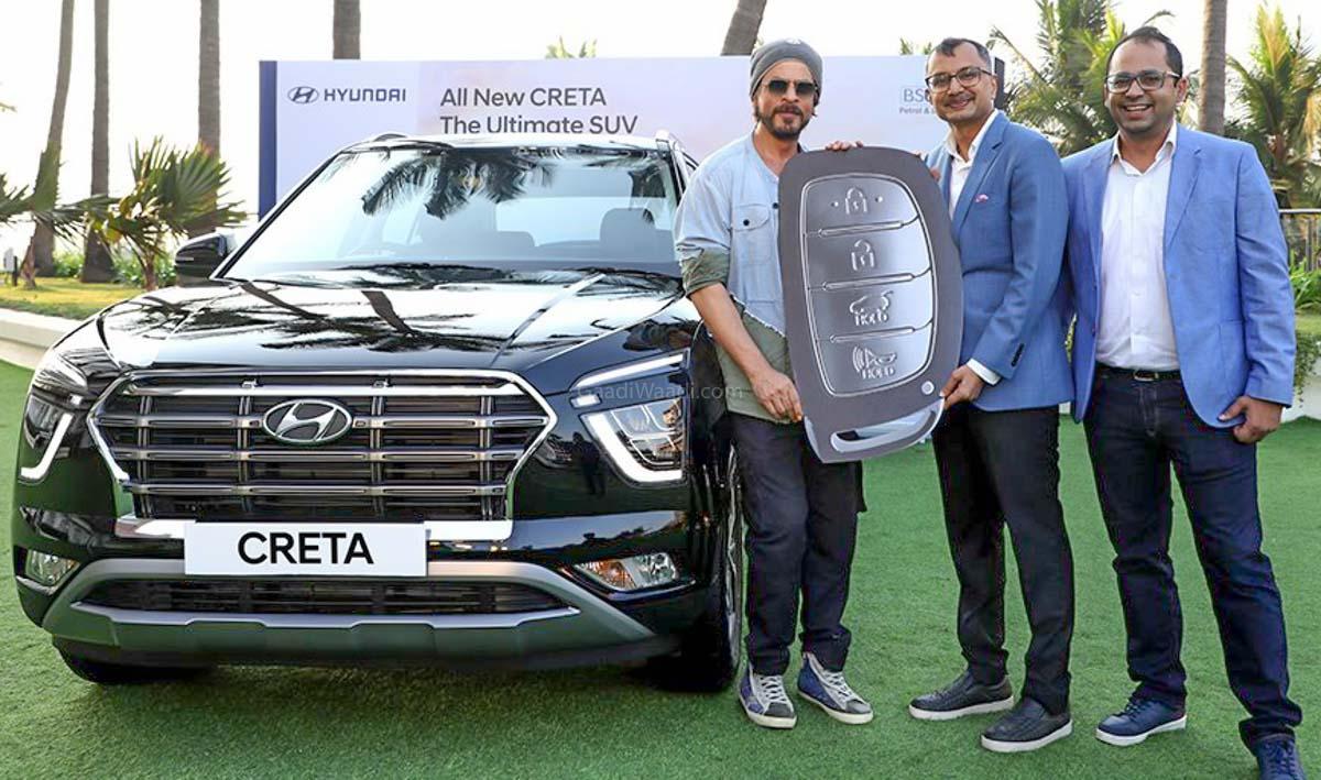 Shah Rukh Khan Is The First Owner Of The 2020 Hyundai Creta