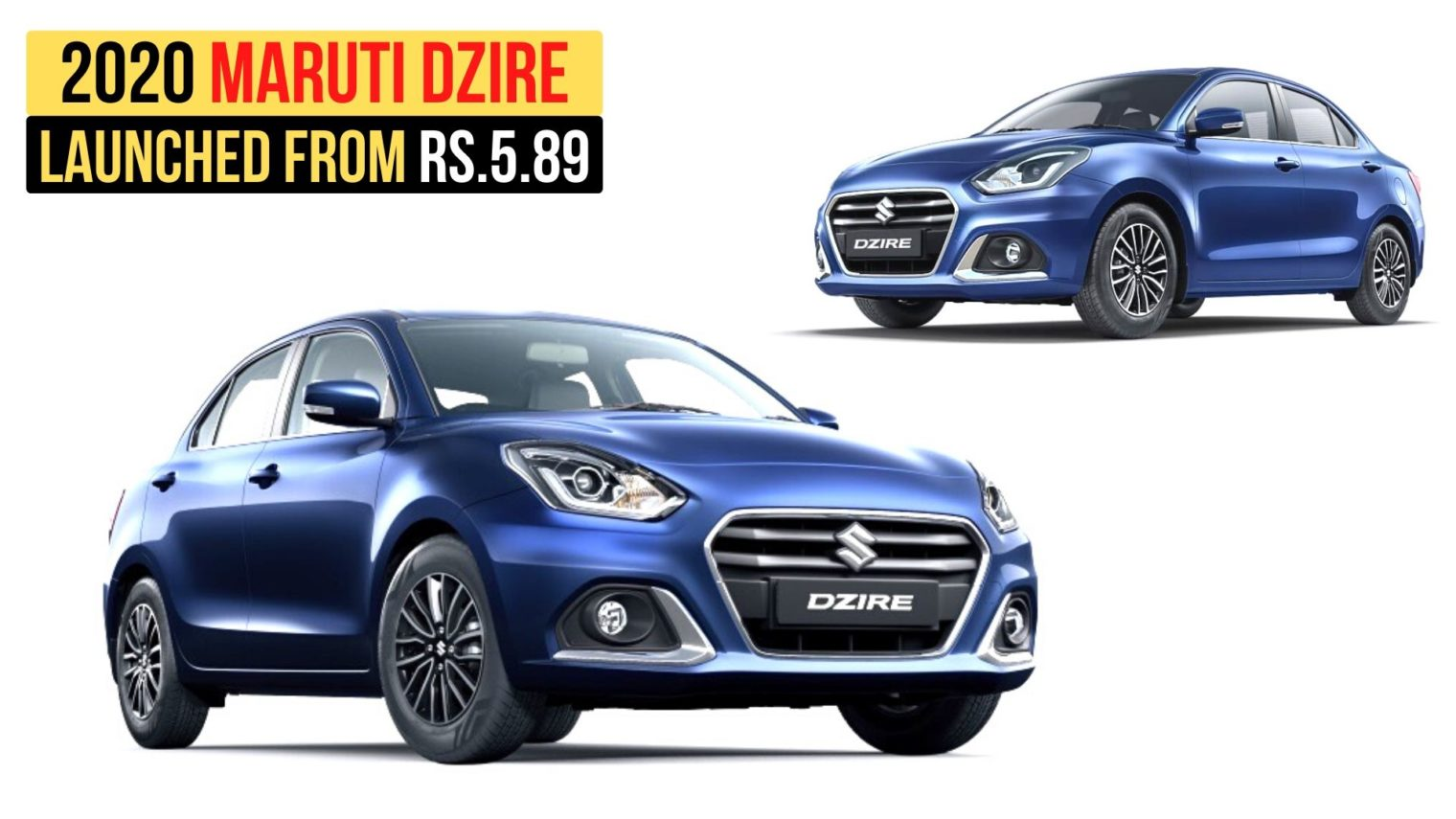 2020 Maruti Dzire Facelift Launched In India From Rs. 5.89 Lakh - GaadiWaadi.com thumbnail