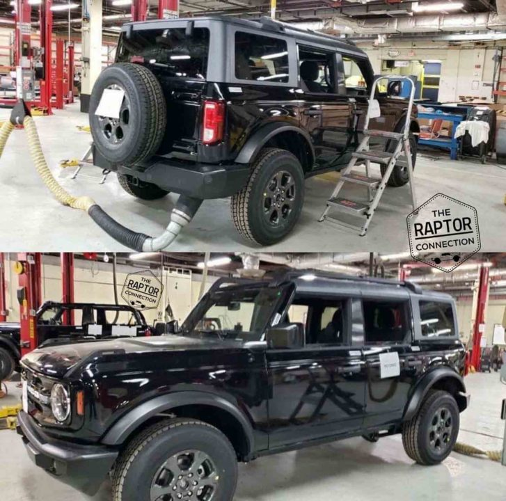 2021 Ford Bronco Spied 1