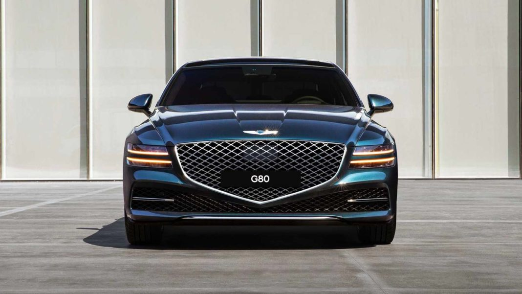 Genesis G80 Unveiled and Detailed a Bit Further