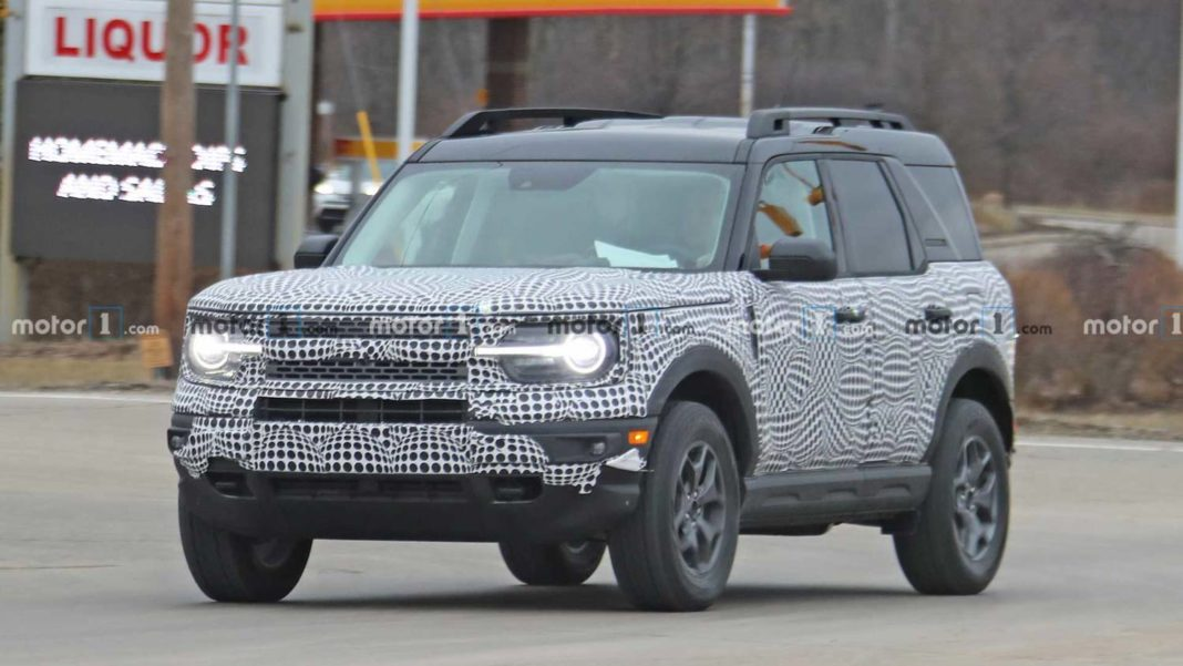 2021 Ford Bronco Sport Interior Fully Spied