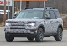 Ford Bronco Sport Spied_