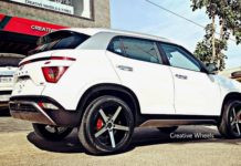 Hyundai Creta 2020 with 18 inch Alloys1