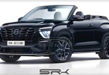 Hyundai Creta Convertible Rendering