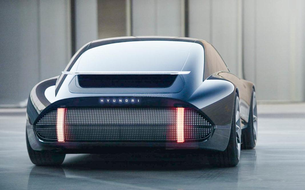Hyundai Prophecy EV Concept rear 2