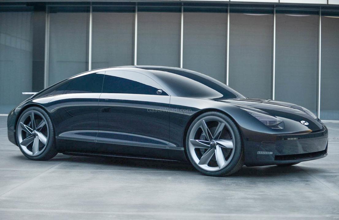 Hyundai Prophecy EV Concept side