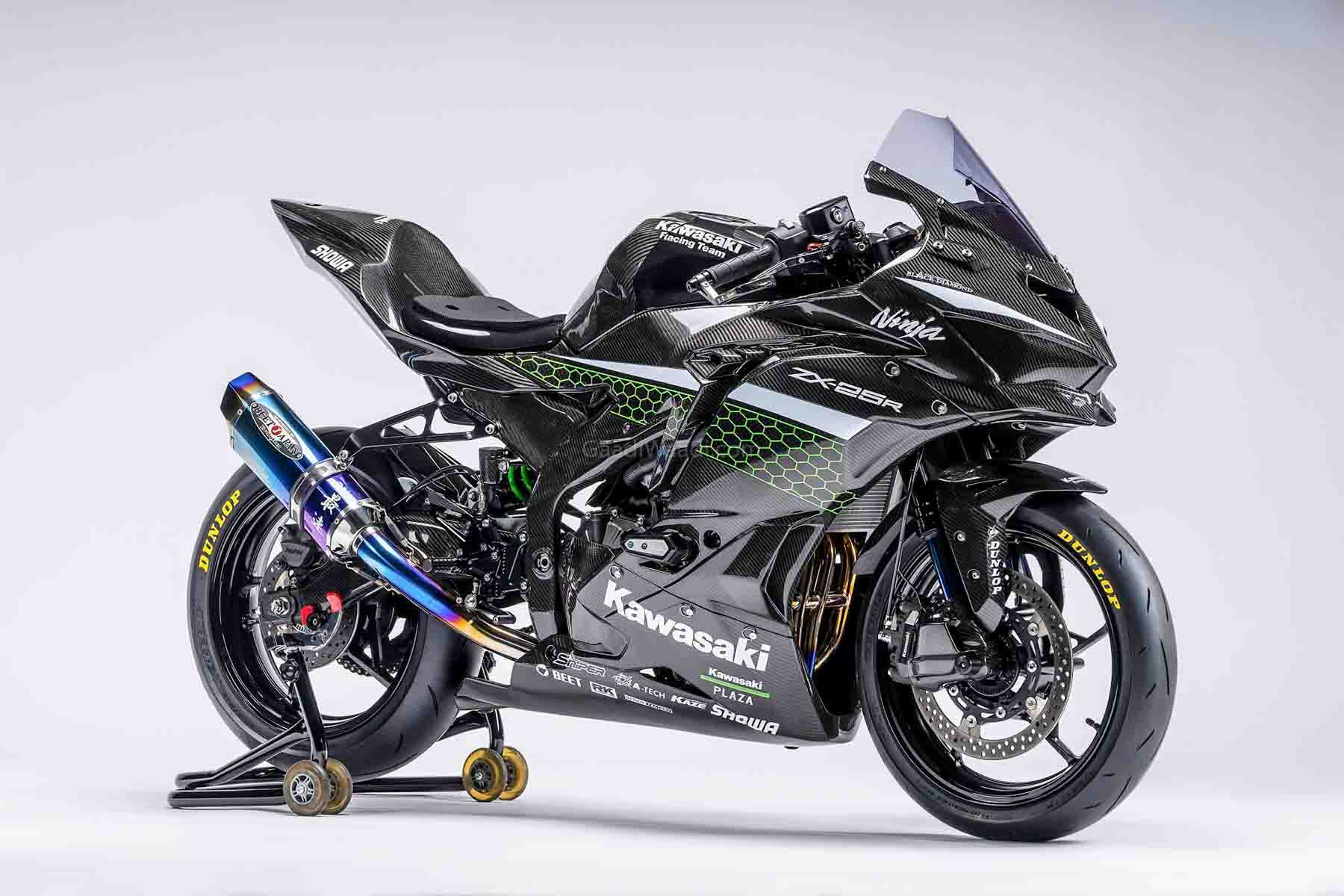 4-Cylinder Kawasaki Ninja 250 (ZX-25R) Racer Custom Revealed Officially thumbnail