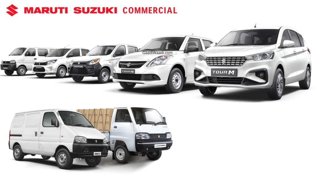 Maruti Commercial Dealerships Get Tour-Spec Alto, Celerio, Dzire, Ertiga