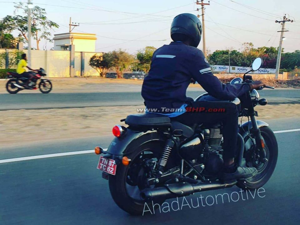 Royal Enfield Meteor (Next-Gen Thunderbird) Spied 1