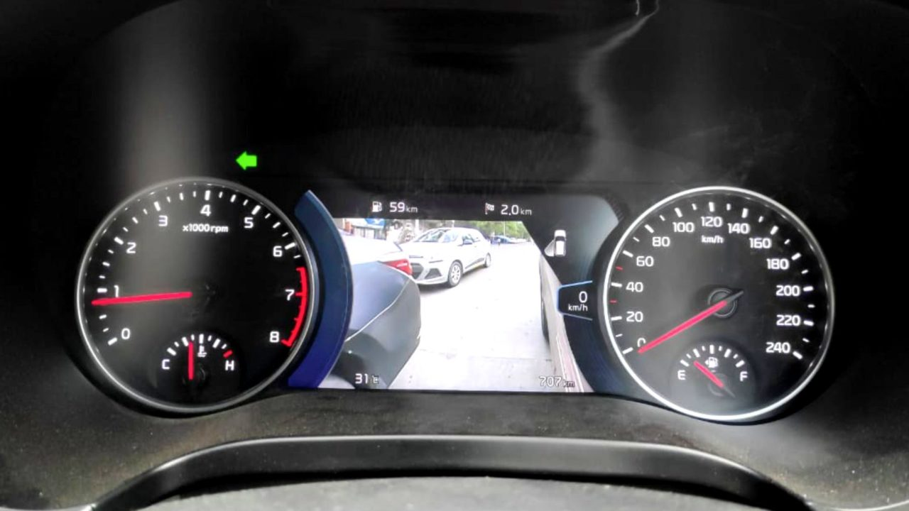 kia seltos blind view monitor
