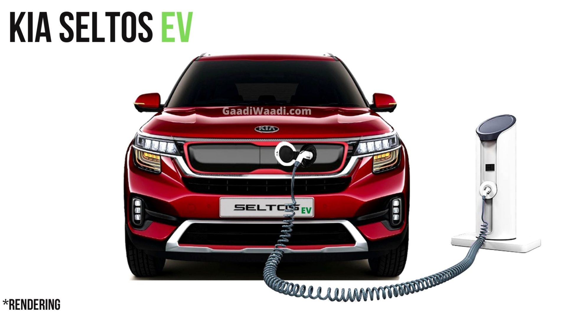 Kia Seltos EV Likely To Have 400 Km Range, 64 kWh Battery Pack