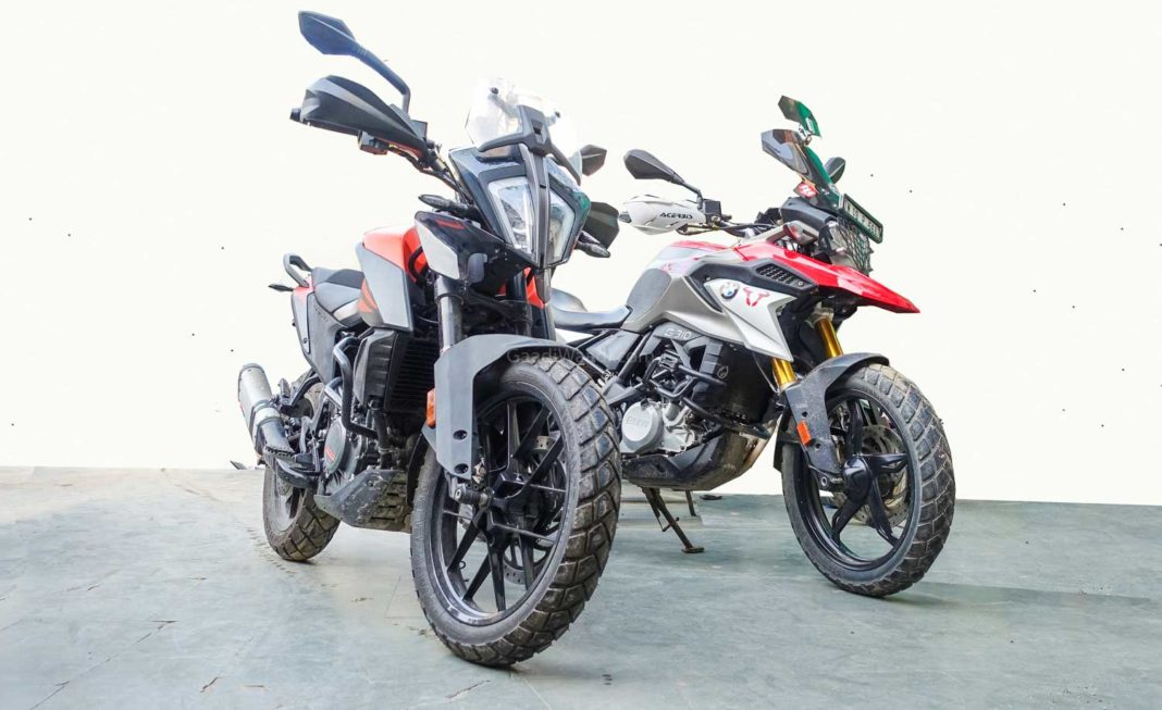 ktm adventure 390 vs bmw g310 GS-1