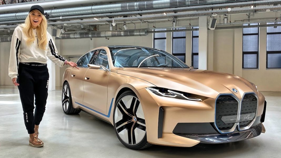 Supercar Blondie Detailed BMW i4 Concept
