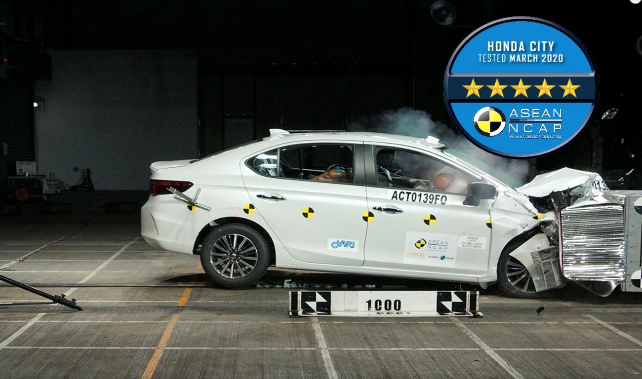 India-Bound 2020 Honda City Impresses With 5 Stars In ASEAN NCAP