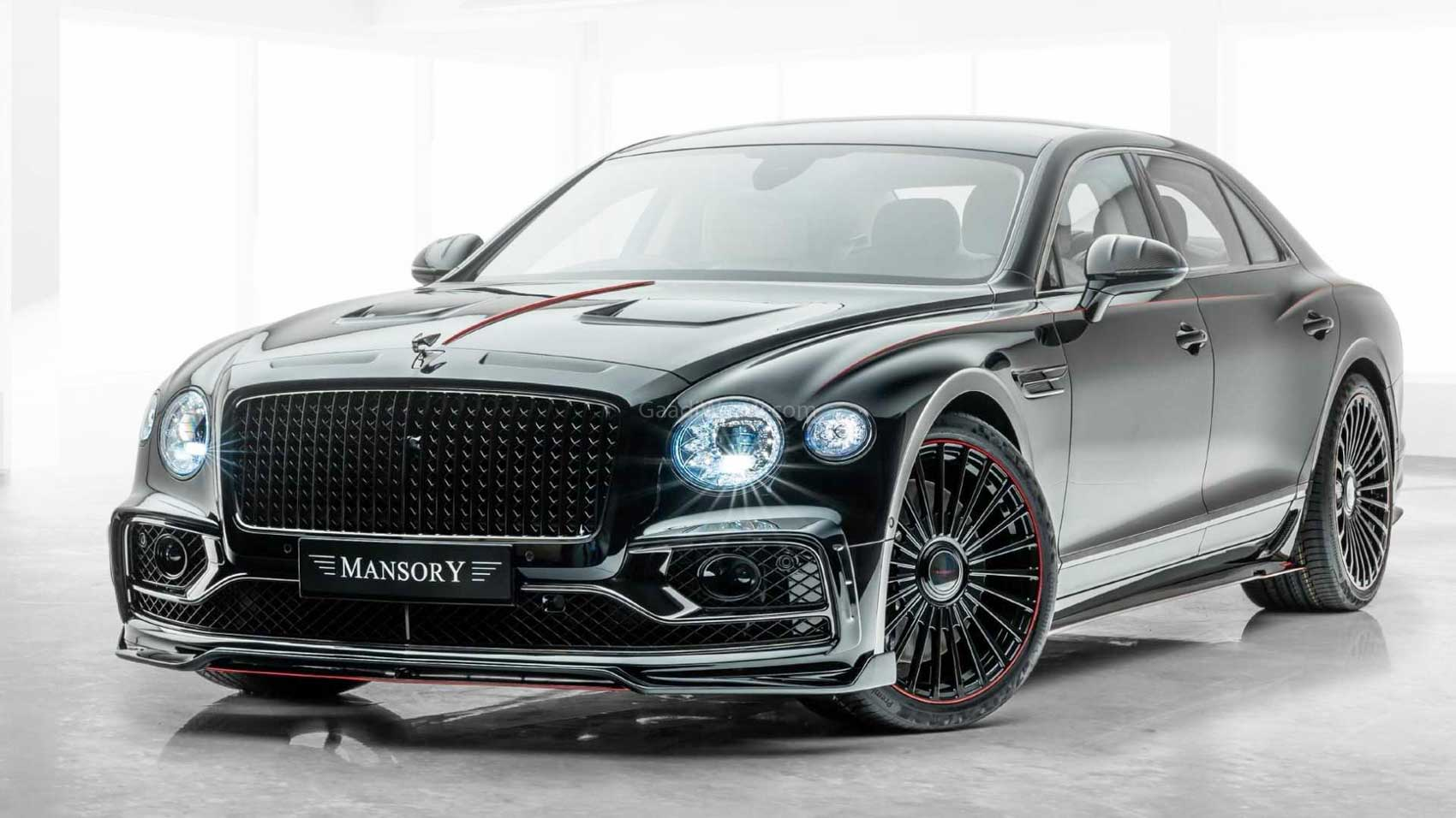 2020 Mansory Bentley Flying Spur's 6.0L Engine Makes 710 PS/1000 Nm