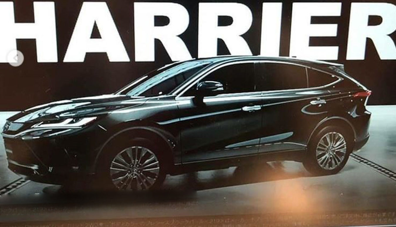 2021 Toyota Harrier SUV Rendered Based On Leaked Images thumbnail
