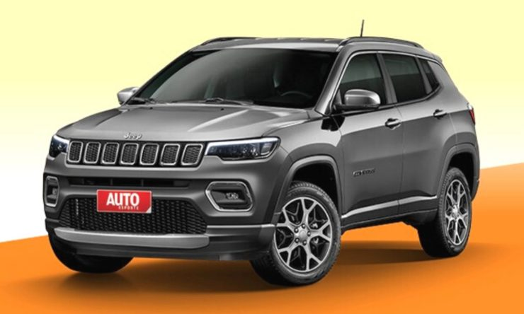 2021 Jeep Compass Facelift Rendering1