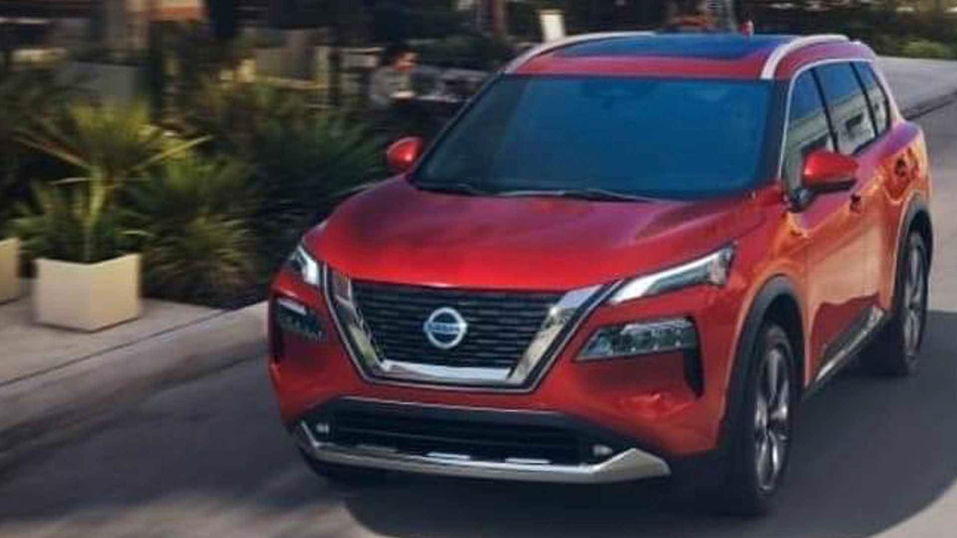 Next-Gen 2021 Nissan Rogue SUV Leaked Online With Stylish Exterior