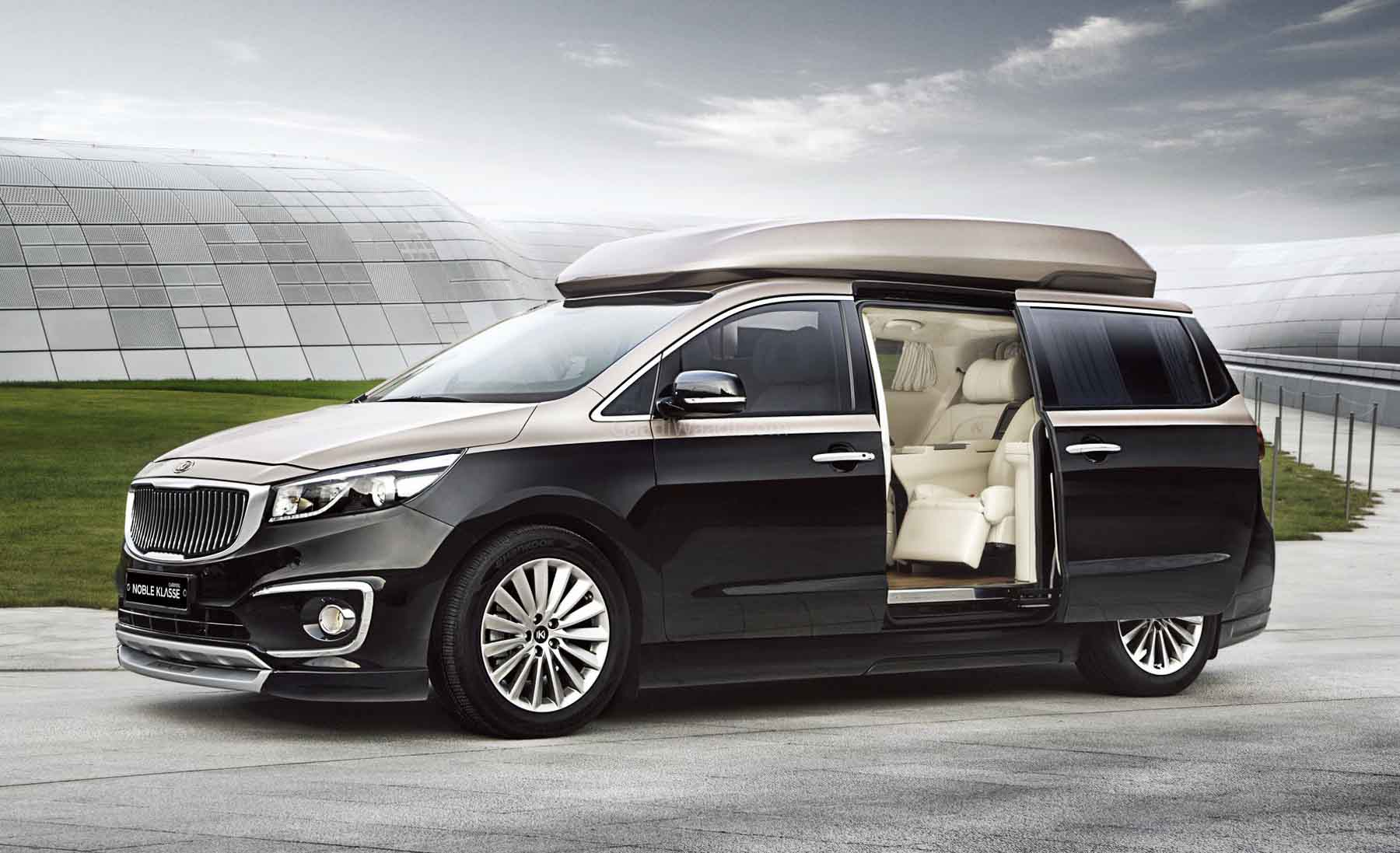 2021 Kia Carnival To Offer 4-seater Variant To Rival Lexus LM