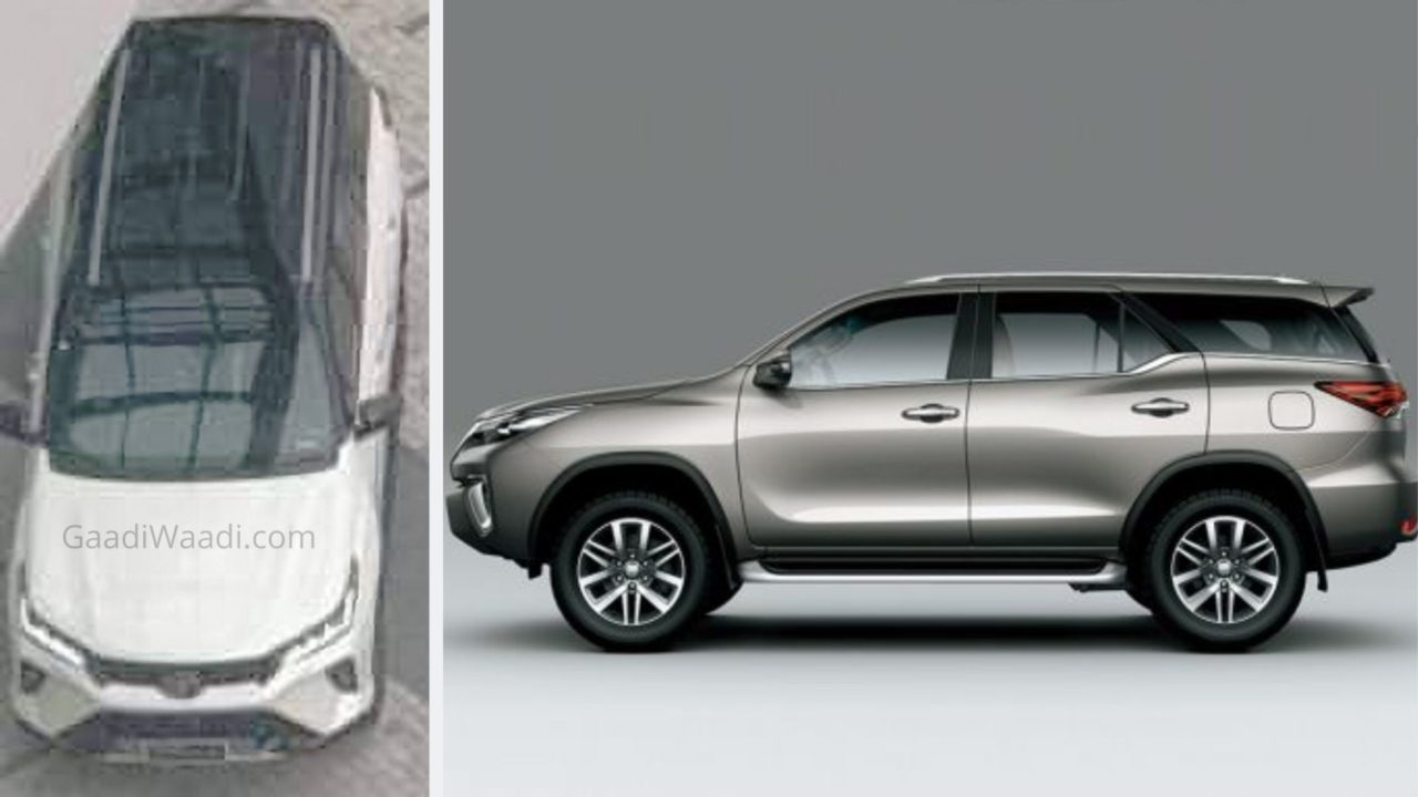 2021 Toyota Fortuner Facelift Leaked Ahead Of Global Debut