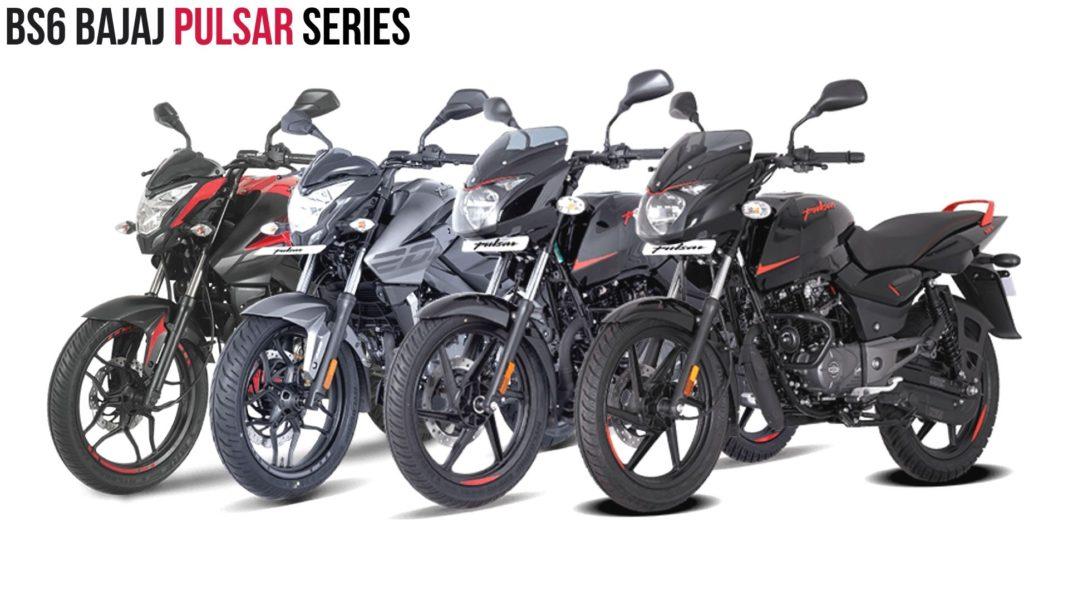 BS6 Bajaj Pulsar Series