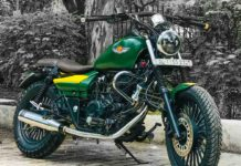 Bajaj Avenger Is Modified Into A Much Expensive Harley Davidson-1-2