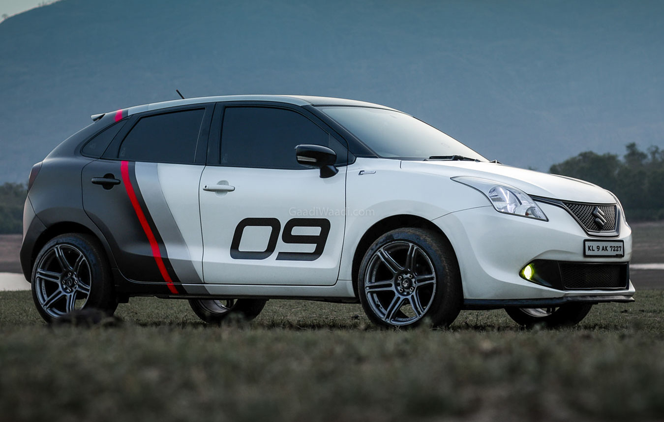 Here Is The Hottest Customised Maruti Baleno We Ve Ever Seen Video [ 858 x 1350 Pixel ]