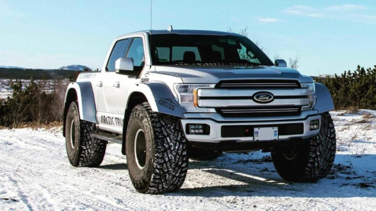 This Custom Built Ford F-150 Pickup Truck Is A Snow-Loving ...