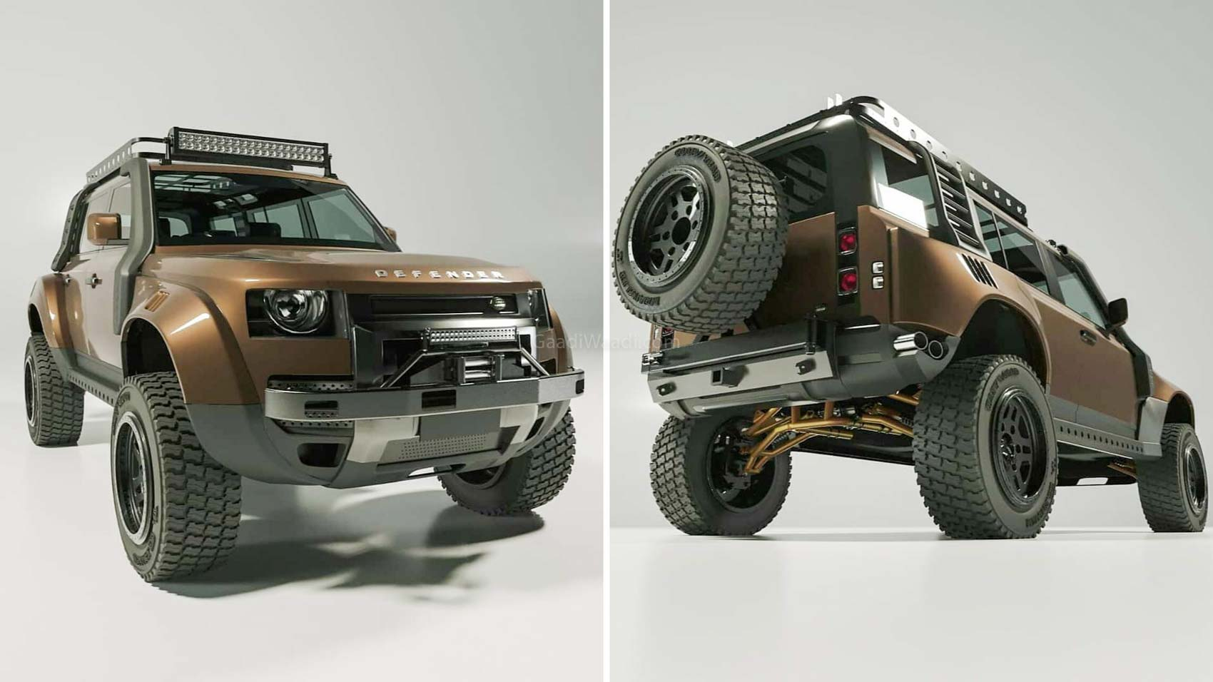 Custom Land Rover Defender 110-3