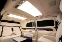 DC Modified Mercedes Benz V-Class interior1