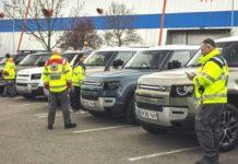 JLR donated 160 Cars to British Red Cross-1