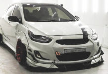 Modified Hyundai Verna with Air Suspension-1