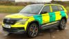 Skoda Kodiaq RS air ambulance service6