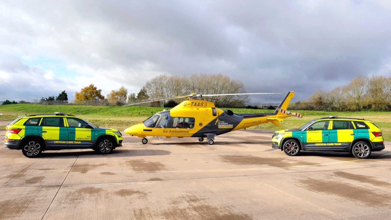Skoda Kodiaq RS air ambulance service8
