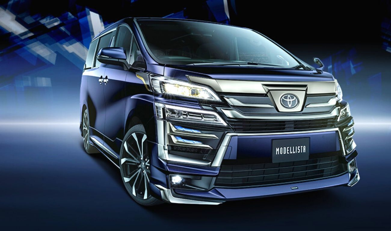Toyota Reveals Modellista Kits For Vellfire, Alphard Golden Eyes