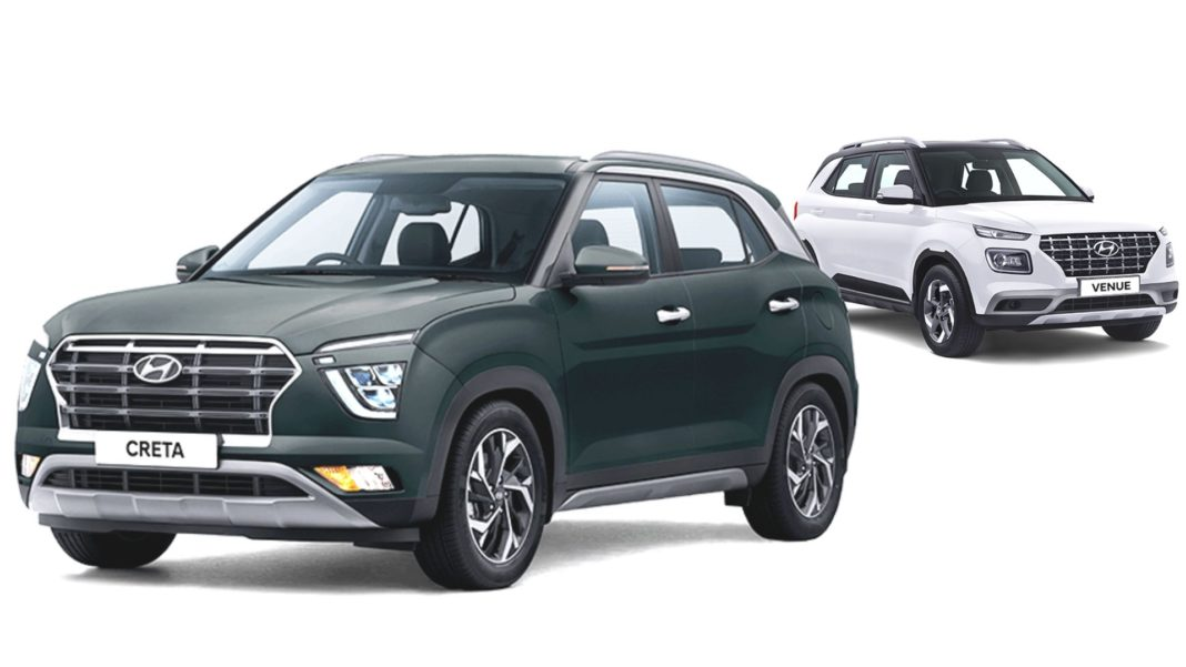hyundai creta vs venue