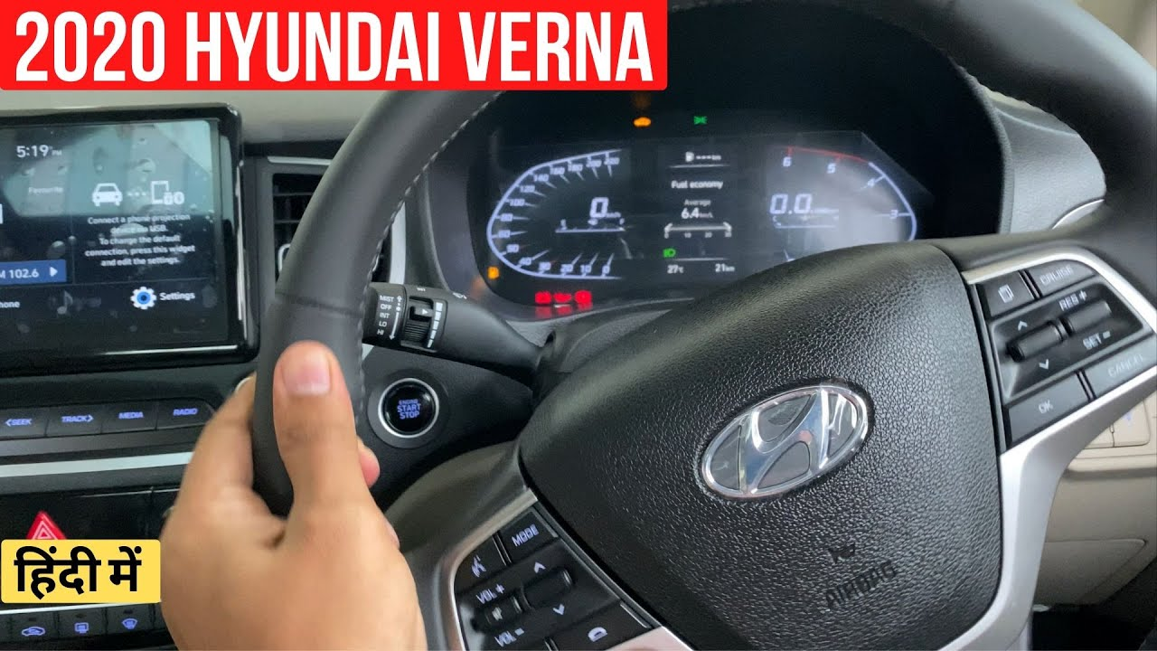 2020 Hyundai Verna Facelift Explained In Most Detailed Walkaround Video thumbnail