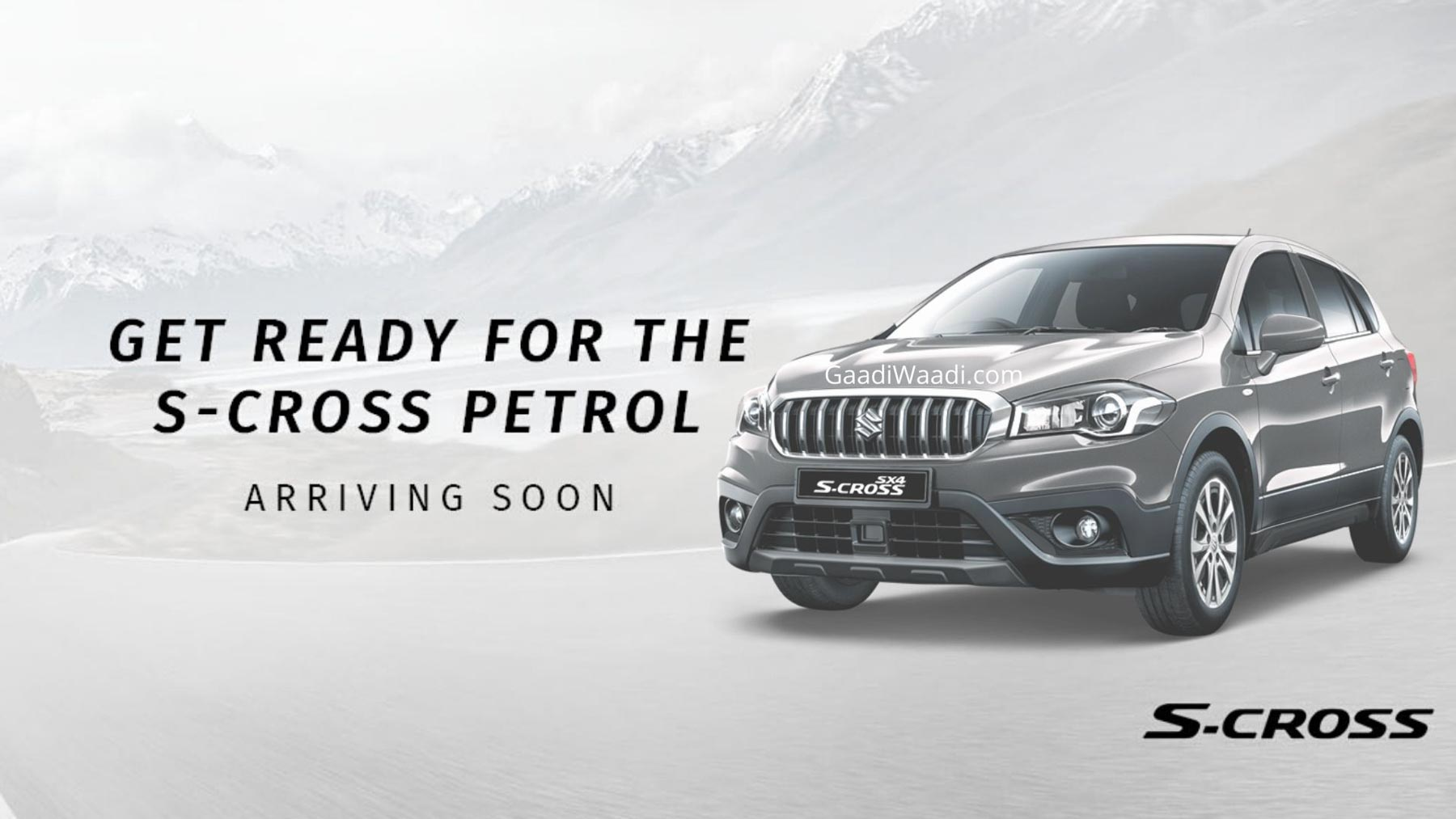 Maruti S-Cross 1.5L Petrol OFFICIALLY TEASED, Launching Soon