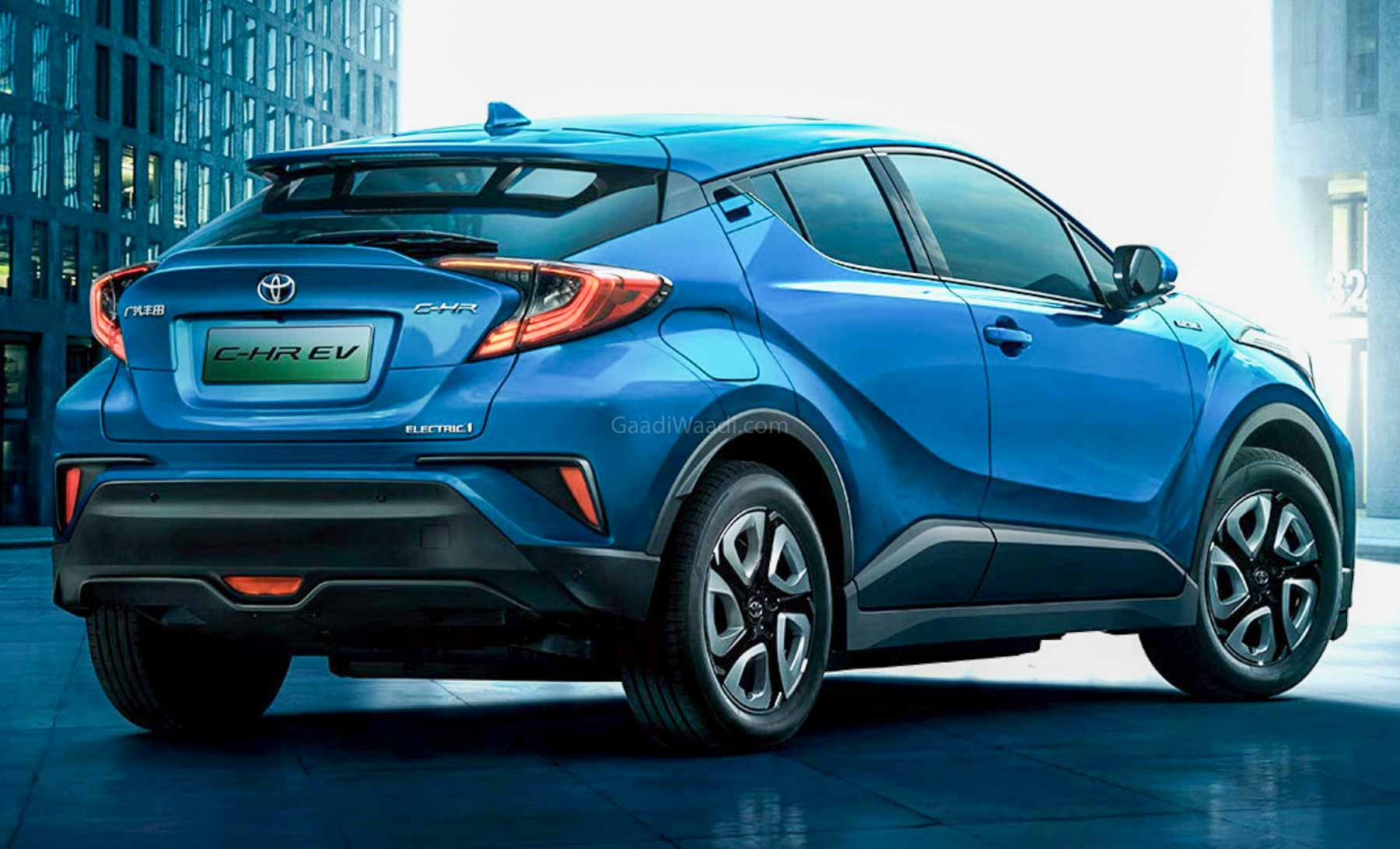 Toyota C-HR Electric Launched In China With 400 Km Range