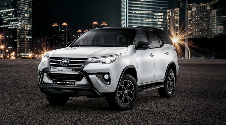 Toyota Fortuner Epic, Epic Black Trims Revealed
