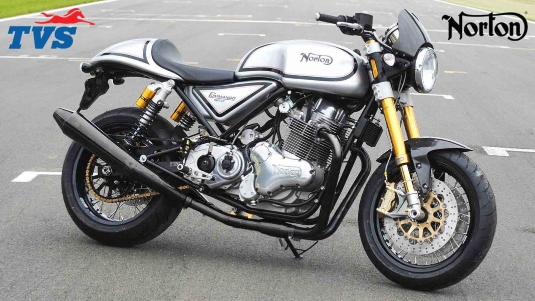 Indian TVS has just acquired Norton Motorcycles