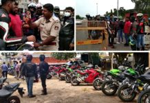 100+ Superbikes Ceased And Fined Near Bengaluru For Alleged Over Speeding