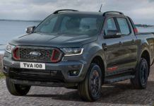 2020 Ford Ranger Thunder in Europe
