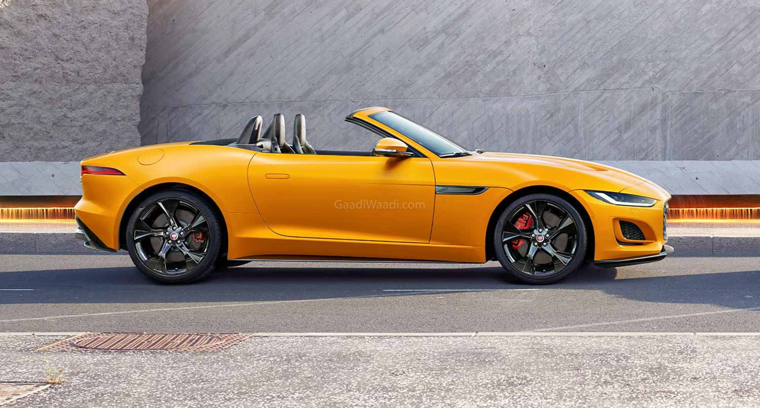 2020 Jaguar F-Type Facelift Launched, Prices Start At Rs 95.12 lakh