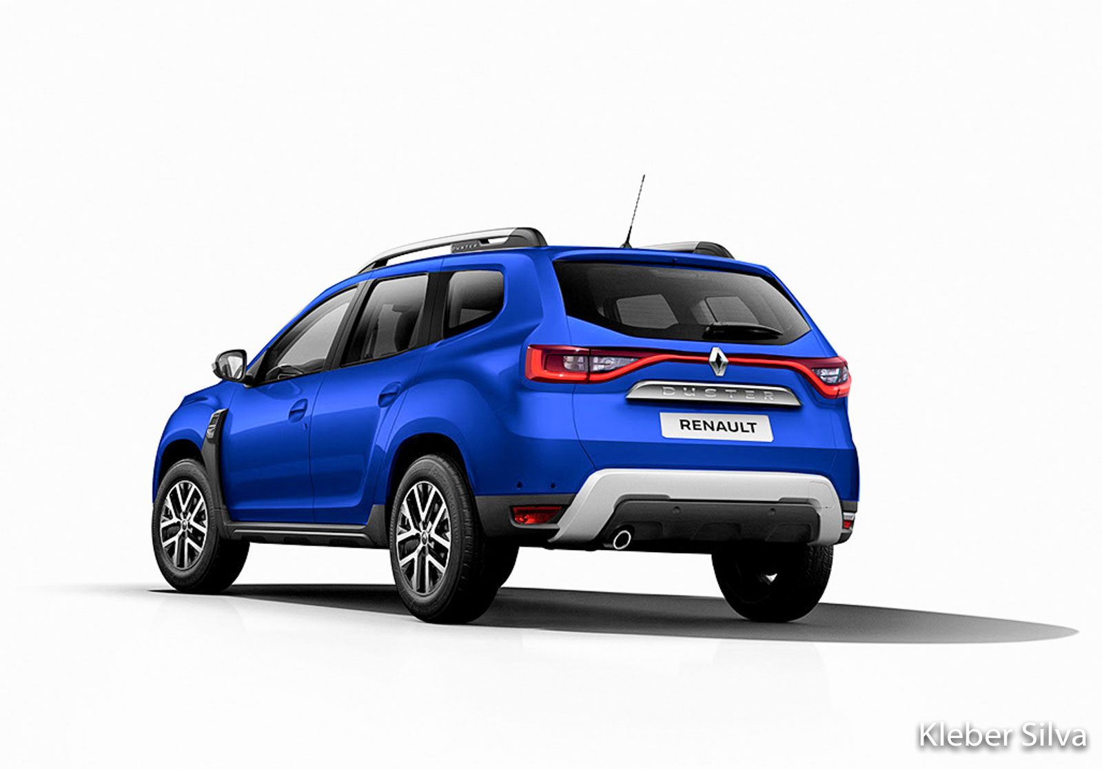Renault Duster Rendered With Latest Global Design Cues; Looks Appealing